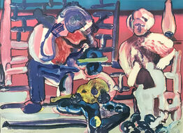 Romare Bearden, LOUISIANA SERENADE