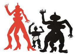 Alexander Calder, Three Acrobats