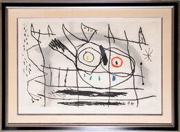 Joan Miró, Couple D'Oiseaux II