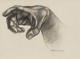 Charles White, Hand (Study for Hampton Mural)