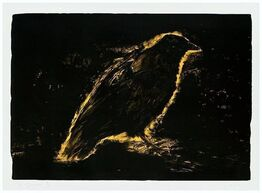 Jim Dine, Raven, Sun's Night Glow