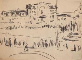 Ernst Ludwig Kirchner, Dresdner Ansicht (View of Dresden)