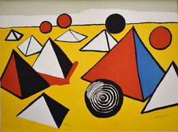 Alexander Calder, Composition VI, from The Elementary Memory | La mémoire élémentaire