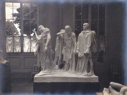 Auguste Rodin, Rodin's Burghers of Calais