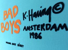 Keith Haring, Bad Boys (COMPLETE SUITE OF 6 WORKS)
