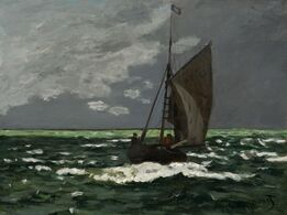 Claude Monet, Seascape, Storm