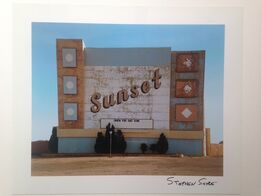 Stephen Shore, West 9th avenue, Amarillo Texas, October 2, from the series Uncommon Places