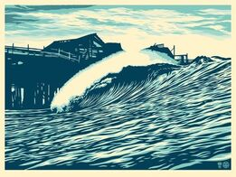 Shepard Fairey, Pop Wave Blue Edition
