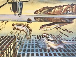 Salvador Dalí, La désintégration de la persistance de la mémoire