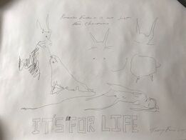 """Tracey Emin, TRACEY EMIN """" """"IT'S FOR LIFE"""", EXCLUSIVE FOR SELFRIDGES LONDON"""