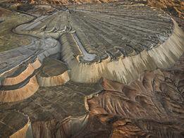 Edward Burtynsky, Chuquicamata Copper Mine Overburden #2, Calama