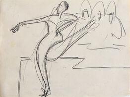 Ernst Ludwig Kirchner, Dancer | Tänzerin