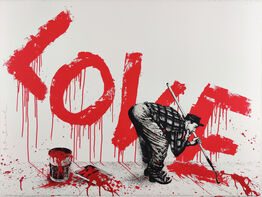 Mr. Brainwash, All You Need Is Love, Red