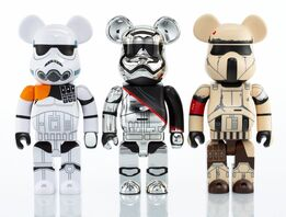 BE@RBRICK, Group of Three Star Wars 400% Be@rbricks