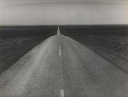 Dorothea Lange, The Road West, U.S. 54 in Southern New Mexico