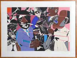 Romare Bearden, Jazz II