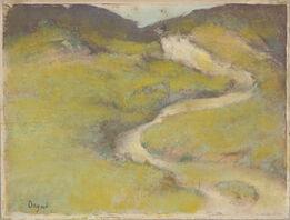Edgar Degas, Pathway in a Field