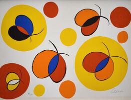 Alexander Calder, Composition X, from The Elementary Memory | La mémoire élémentaire