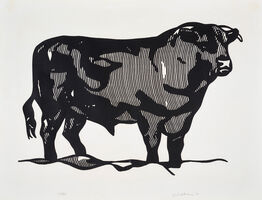 Roy Lichtenstein, 'Bull I from Bull Profile Series', 1973