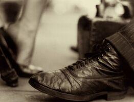 Saul Leiter, 'Shoeshine Shoes', ca. 1948
