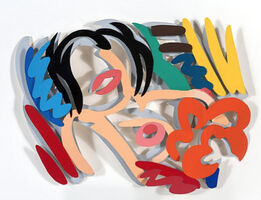Tom Wesselmann, Maquette for Big Blonde (Double Layer) (3-D)