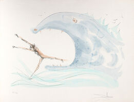 Salvador Dalí, 'Jonah and the Whale', 1975