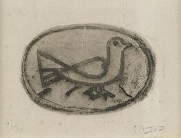 Georges Braque, 'Oiseau I', 1950