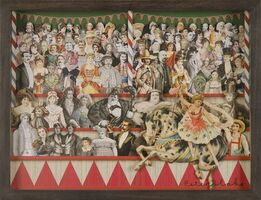Peter Blake, Circus Collage Right