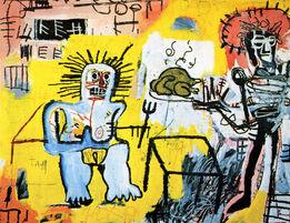 Jean-Michel Basquiat, Basquiat at Annina Nosei 1982