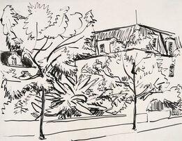 Ernst Ludwig Kirchner, Strasse in Dresden-Friedrichstadt (Street in Dresden-Friedrichstadt)