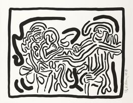 Keith Haring, Bad Boys, One plate (Littmann p.57)