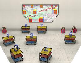 David Hockney, Focus Moving