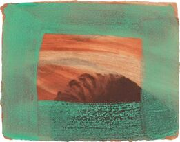 Howard Hodgkin, AFTER DEGAS (HEENK 81)