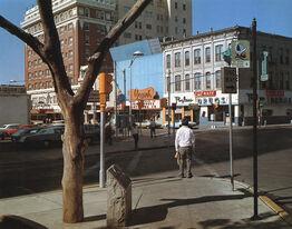 Stephen Shore, El Paso Street, El Paso, Texas 7/5/1975