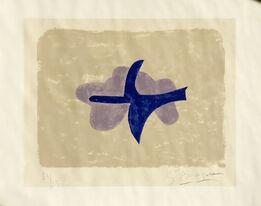 Georges Braque, Dans le ciel  (Oiseau XV)