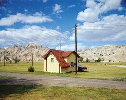 Stephen Shore, Badlands National Monument, South Dakota 7/14/1973