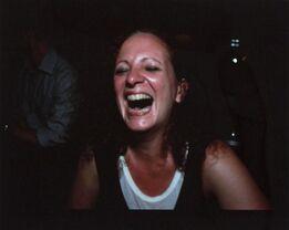 Nan Goldin, Self-portrait, laughing