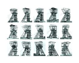 Bernd and Hilla Becher, Winding Towers