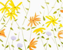 Alex Katz, Summer Flowers 2