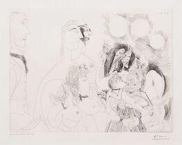 Pablo Picasso, La Fete de la Patronne..., from the 156 Series