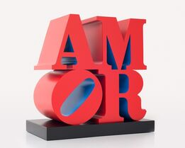 Robert Indiana, AMOR, Red Blue