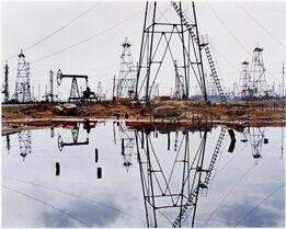 Edward Burtynsky, SOCAR Oil Fields #3, Baku, Azerbaijan, 2006