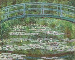 Claude Monet, The Japanese Footbridge