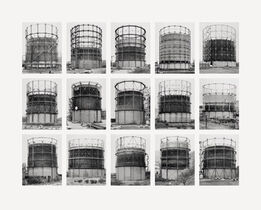 Bernd and Hilla Becher, Gasbehälter (Gas Tanks)