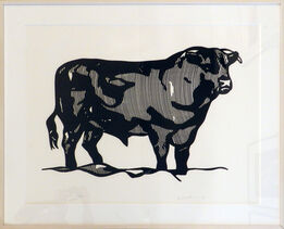 Roy Lichtenstein, Bull Profile Series