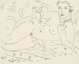 Henri Matisse, Nu, main gauche pres de l'epaule, 33/50