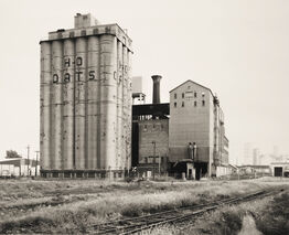 Bernd and Hilla Becher, Grain Elevator [Getreideheber],  Buffalo, New York, USA