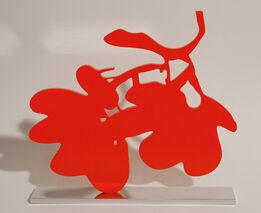 Donald Sultan, Red Lantern Flower