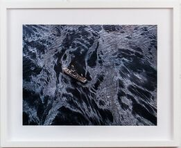 Edward Burtynsky, Oil Spill #2 Discoverer Enterprises, Gulf of Mexico, May 11 2010