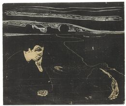Edvard Munch, Evening. Melancholy I (Sch. 82; W. 91)